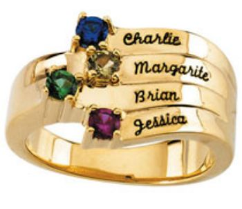 Picture for category Engraved Family Rings