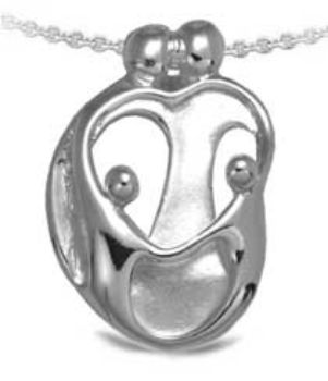 Picture for category Loving Family Small Silver Pendants