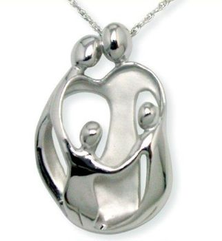 Picture for category Loving Family Large Silver Pendants