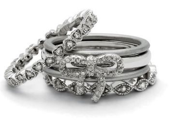 Picture for category Diamond Stackable Silver Rings