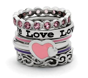 Picture for category Enameled Sterling Silver Rings
