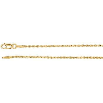 Picture of Yellow Gold Rope Chain 1.50 MM