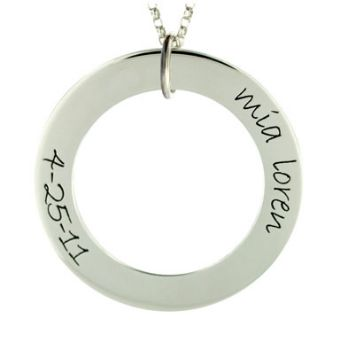 Picture of Name Date Engravable Loop