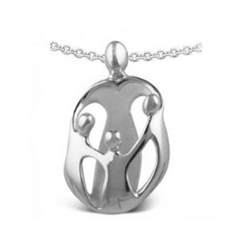 Picture of LARGE Mother and Three Children Pendant