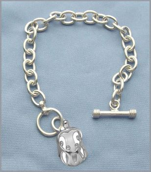 Picture of Silver Mother and Four Children Toggle Bracelet
