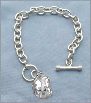 Picture of Silver Parents and Four Children Toggle Bracelet