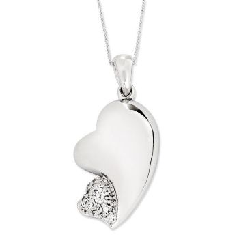 Picture of My Beloved Friend, Silver Pendant