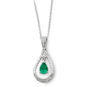 Picture of Never Forget Tear, May Birthstone