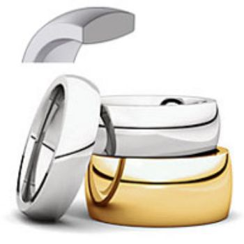 Picture for category Comfort Fit Wedding Bands