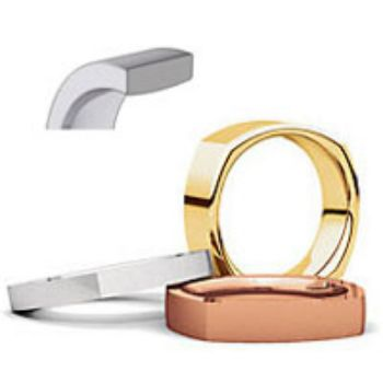 Picture for category Square Comfort Fit Wedding Bands