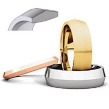 Picture for category Knife Edge Comfort Fit Wedding Bands