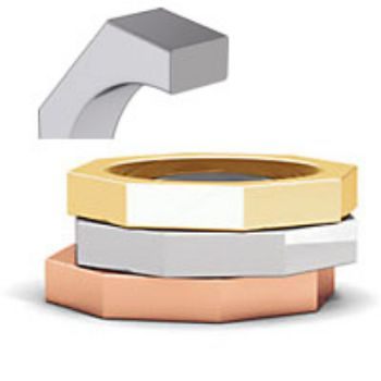 Picture for category Octagon Wedding Band