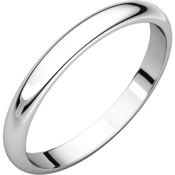 Picture of 14K Gold 2.5 mm Half Round Band