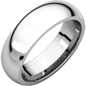 Picture of 14K Gold 6 mm Comfort Fit Light Wedding Band