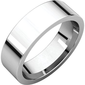 Picture of 14K Gold 6 mm Flat Comfort Fit Band