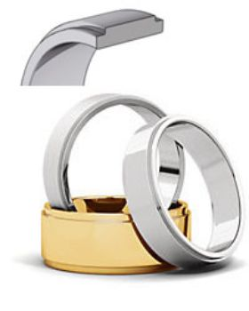 Picture for category Flat Edge Wedding Bands