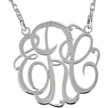 Picture for category Monogram Necklaces Silver or Gold