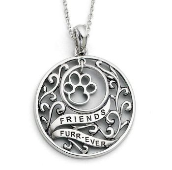 Picture of Animal Friends-Dog, Silver Pendant