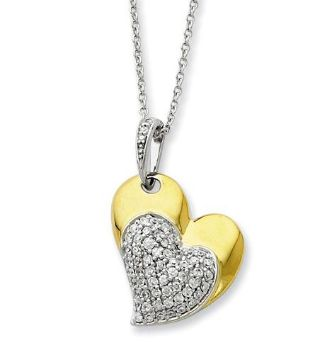 Picture of Blessed Beyond Measure, Silver Gold Plated Pendant