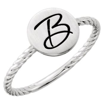 Picture of Posh Mommy Circle Rope Ring