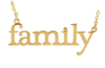 Picture of 14K Gold Family Necklace