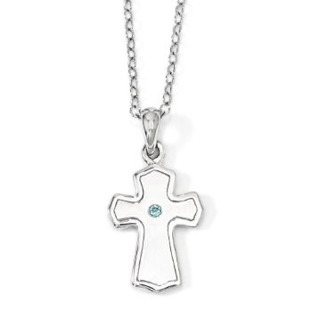 Picture of Child Of God (Boy) Cross Silver Pendant