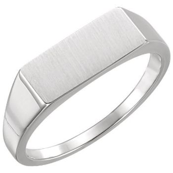 Picture of Men's Rectangle Signet Ring