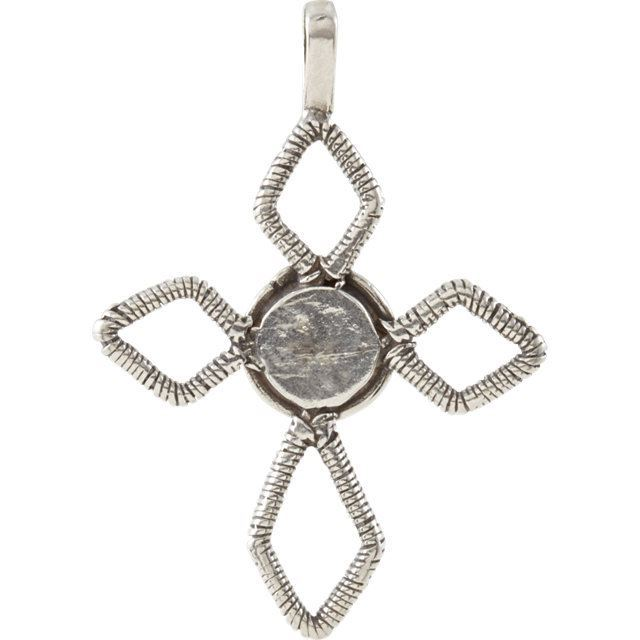 Picture of Ancient Roman Glass Cross Pendant