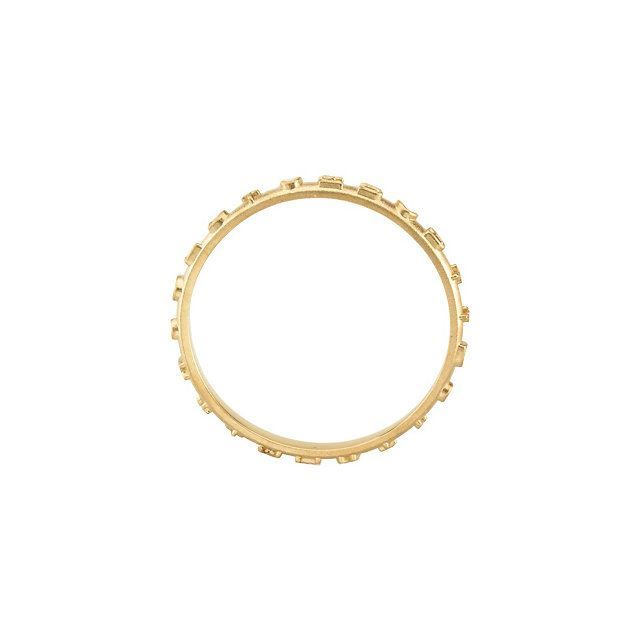 Picture of 14K Yellow Prayer Ring