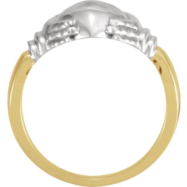 Picture of 14K Gold Ladies Claddagh Ring