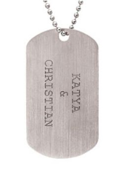 Picture for category Posh Daddy Military Dog Tag