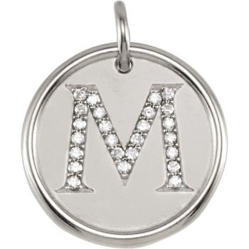 Picture for category Posh Mommy Initial Diamond Pendants
