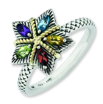 Picture for category Color Gemstones & Diamond Silver Rings
