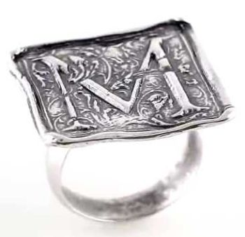 Picture for category Posh Mommy Vintage Initial Rings