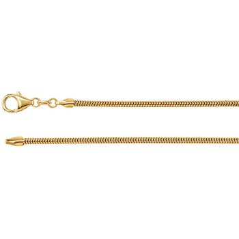 Picture of Yellow Gold Snake Chain 1.50 MM