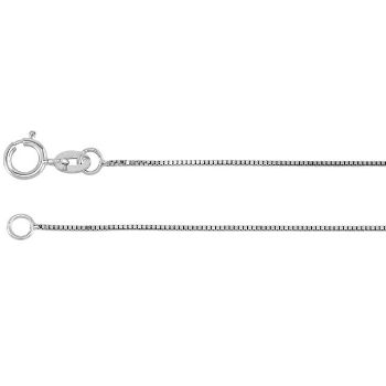 Picture of White Gold Box Chain 0.50 mm