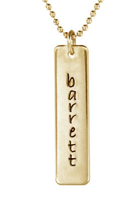 Picture of 1 Engravable Tall Tag