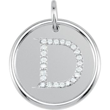 Picture of Initial D, Roxy Diamond Pendant