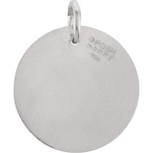 Picture of Initial J, Roxy Diamond Pendant