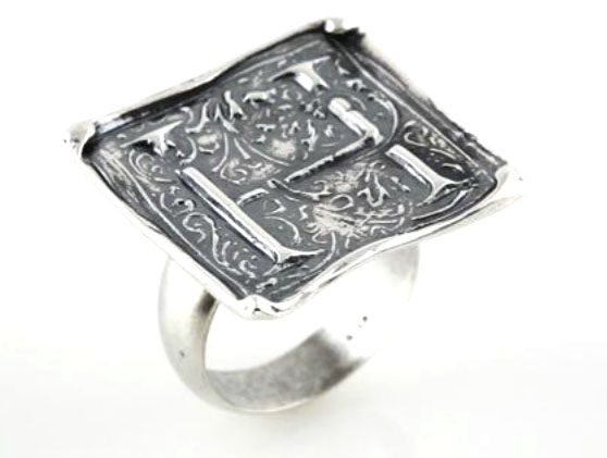 Picture of Initial H Vintage Ring