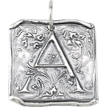 Picture of Initial A Vintage Pendant