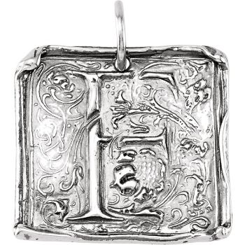 Picture of Initial F Vintage Pendant
