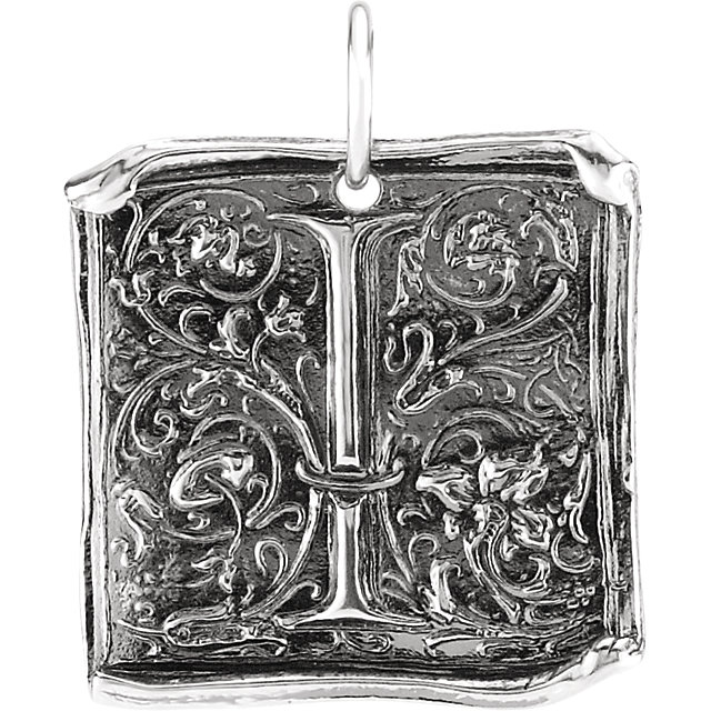 Picture of Initial I Vintage Pendant