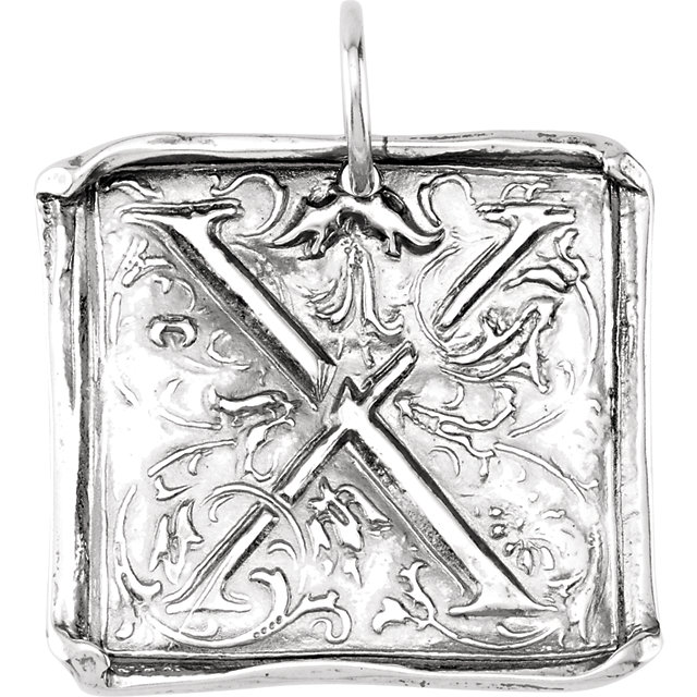Picture of Initial X Vintage Pendant