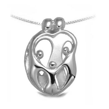 Picture of Small Two Parents and Three Children Pendant