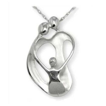 Picture of LARGE Two Parents and One Child Pendant