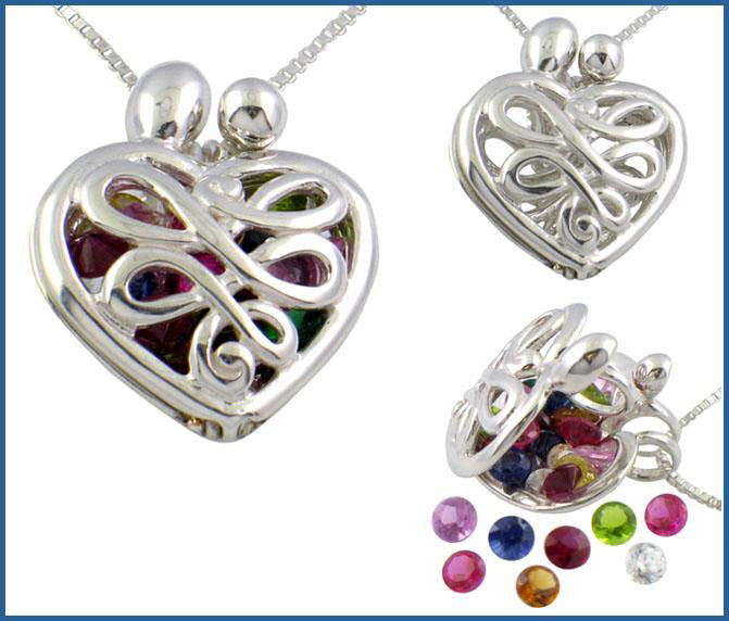 Picture of Silver Mother's Locket