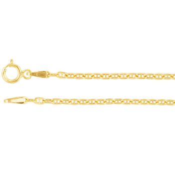 Picture of Yellow Gold Link Chain 1.0 mm