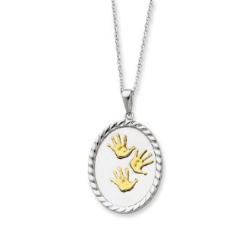 Picture of Hand Prints Necklace