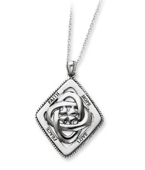 Picture of Silver Family Blessings Necklace